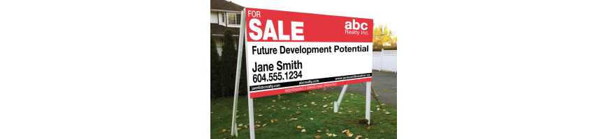 Realestate signs, condo boards, directional signs, dnasignsonline.com