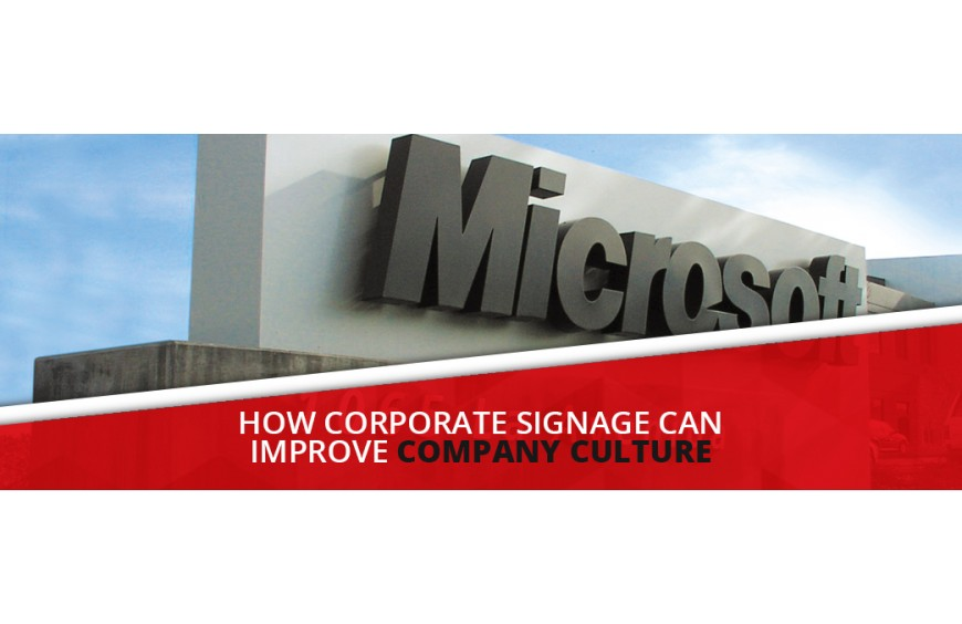 How Corporate Signage Can Improve Company Culture